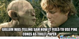 Gollum Memes - sam and gollum by psychadelicace meme center