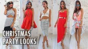 what to wear to a christmas party 8 festive youtube
