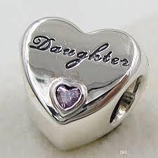 sterling silver love heart bracelet images 2018 2015 new 925 sterling silver daughter 39 s love charm pendant jpg