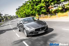 maserati delhi 2017 maserati ghibli review test drive motorbeam