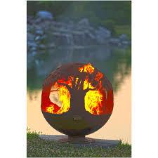 Custom Metal Fire Pits by Tree Of Life