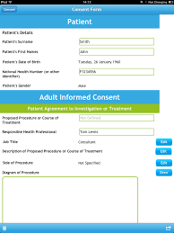 medical consent app is a great idea but raises controversial