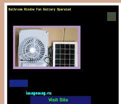 battery operated window fan bathroom window fan battery operated 081951 the best image search