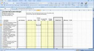 Home Building Cost Estimate Spreadsheet by Renovation Construction Budget Spreadsheet Implementing