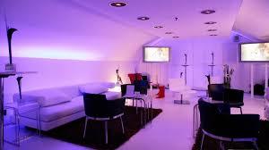 Maroon Wall Paint Bedroom Bedroom Interior Purple Wall Painting With Lighting