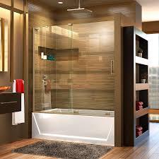 Mirage Shower Doors Shop Dreamline Mirage X 56 In To 60 In W Frameless Brushed Nickel