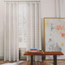 Grey Beige Curtains Hilfiger Lake Gray Beige Grey 2pc Window Curtain