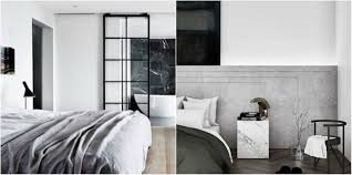 bedroom design ideas modern and monochromatic for a restful space