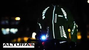 high visibility waterproof cycling jacket altura night vision evo jacket from eurocycles com youtube