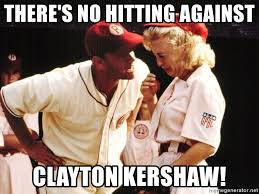 Meme Generator Crying - there s no hitting against clayton kershaw tom hanks crying