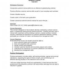 Good Customer Service Skills Resume Cover Letter Good Customer Service Resume Examples Excellent