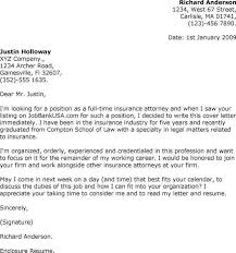 attorney sample cover letter legal cover letter download writing