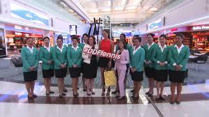 ana ivanovic visits dubai duty free in dubai international airport