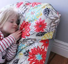 super simple diy kids bean bag chair a step by step tutorial