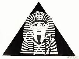 tutankhamun inspired king tut design by bloodmoonequinox on