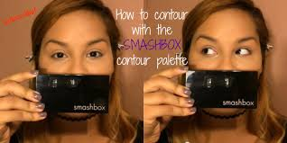 how to contour face using smashbox contour kit tutorial by
