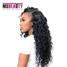 msbeauty weave hair pieces wave human hair
