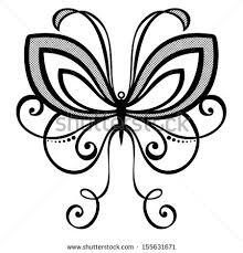 vector beautiful dragonfly exotic insect patterned stock vector