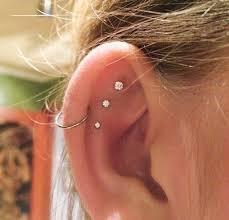 awesome cartilage earrings ear piercing ideas