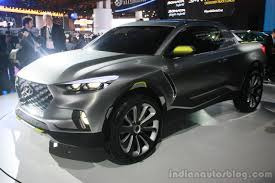 hyundai crossover 2015 hyundai santa cruz crossover concept at the 2015 detroit auto show