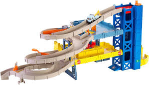 Plan Toys City Series Parking Garage Review by Matchbox Mission 4 Level Garage Playset Toys