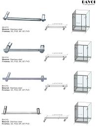 Shower Glass Door Parts Smallest Shower Door Handles Bunnings Door Handle Shower Door