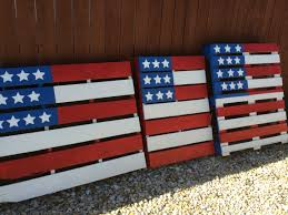 Pallet American Flag American Flag Pallets For The Yard Porch Or Front Gate Cool