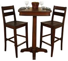 Square Bistro Table Brilliant Square Pub Table Sets American Heritage Taylor 3 Piece