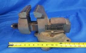 Woodworking Bench Vise Made In Usa by Vintage Wilton Mechanics Bench Vise Heavy Duty Swivel Base Vise