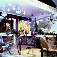 homemade halloween decorations skeleton made of plastic shopping