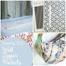 pattern for tote bag with zipper sewing 201 how to sew a welt zipper pocket great for a tote bag
