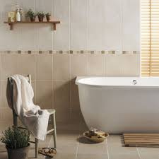 beige bathroom tile ideas beige bathroom tiles freestanding bathtub design plus small wall