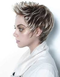short frosted hair styles pictures 227 best hairstyles pixie images on pinterest coiffures