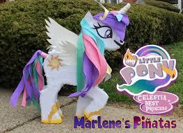 my pony pinata unicorn pinata princess celestia