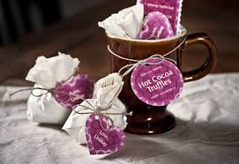 hot chocolate gift ideas hot chocolate truffle balls gift favor ideas from evermine