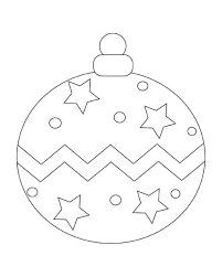 christmas ornament coloring pages getcoloringpages