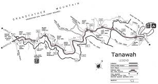 Boone Map Tanawha Trail