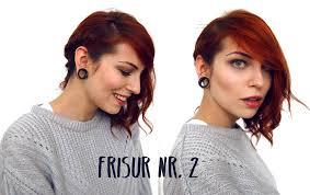Frisuren F Mittellange Haare Zum Nachmachen by Wie Style Ich Kurze Haare 3 Lieblingsfrisurenbeauty 3