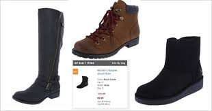 womens steel toe boots payless sale on s boots prices start at 9 99 after code