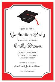 graduation party invitations grad party invitation templates sle graduation party invitation
