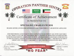 Certificate Of Achievement Army Template sle blank certificate of appreciation best of army certificate