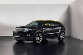 land rover evoque black and white new range rover evoque sicilian yellow limited edition model