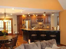 Open Floor Plan Kitchen Designs Kitchen Room Modern Apartment Interior Open Floor Plan Small