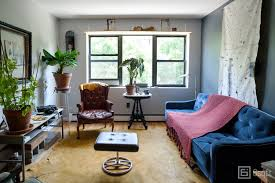 my 900sqft an interior designer fills his bed stuy home with rare