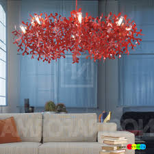 decoration diy coral lamp shade coral light pendant fixture color