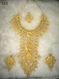gold plated beads necklace images African beads jewelry set artificial kundan bridal jewellery sets jpg