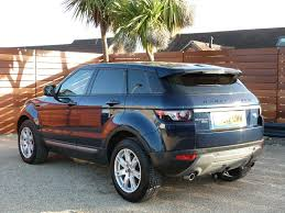 range rover blue used buckingham blue land rover range rover evoque for sale dorset