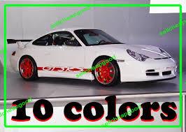 porsche gt3 ebay porsche 911 996 gt3 rs sides skirt decal sticker vinyl for 996 997
