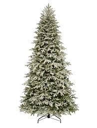 frosted fraser fir narrow artificial christmas tree balsam hill