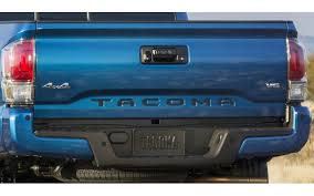 toyota tacoma tailgate tacoma 2016 up rear tailgate letters inserts